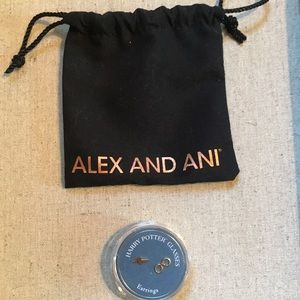 Alex and Ani Jewelry - Alex and Ani Harry Potter Glasses Earrings